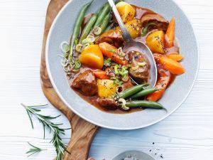 Gemüse-Lammragout Rezept