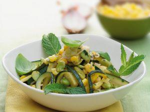 Gemüse-Mais-Pfanne Rezept
