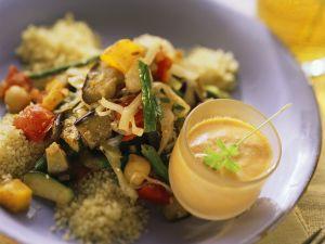 Gemüse mit Couscous Rezept