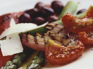 Gemüse mit Marinade Rezept
