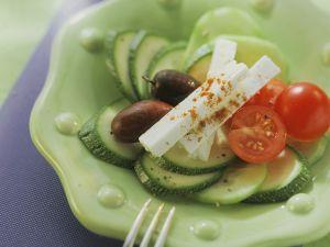 Gemüse mit Schafskäse Rezept