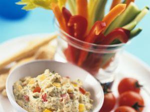 Gemüse mit Thunfischsauce Rezept