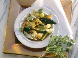 Gemüse nach griechischer Art Rezept