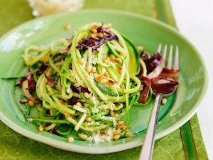 Gemüse-Pasta: So gelingen die Low-Carb-Nudeln