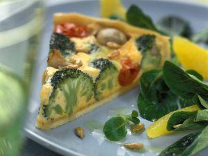 Gemüse-Quiche Rezept
