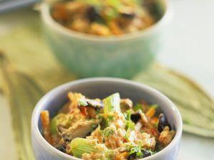 Gemüse-Rührei Rezept