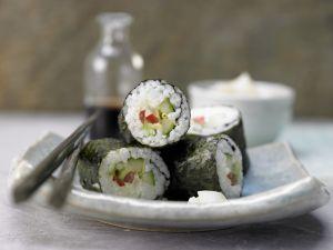Gemüse-Sushi Rezept