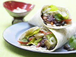 Gemüse-Tortillas Rezept