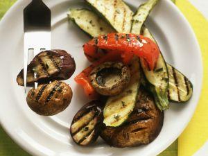 Gemüse vom Grill Rezept