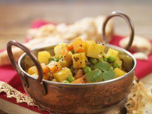 Gemüsecurry auf indische Art Rezept