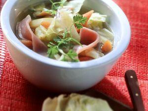 Gemüseeintopf mit Kassler Rezept