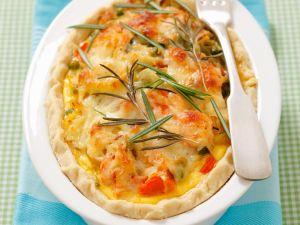 Gemüsegratin mit Rosmarin und Käse Rezept