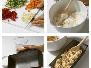 Gemüsekuchen mit Schinken Rezept