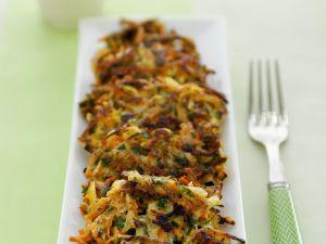 Gemüsepuffer Rezept