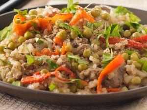 Gemüsereis mit Rindlfleisch Rezept