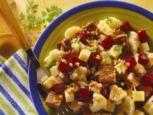 Gemüsesalat mit Rindfleisch Rezept