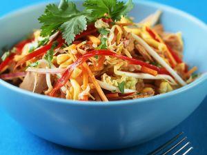 Gemüsesalat mit Thunfisch Rezept