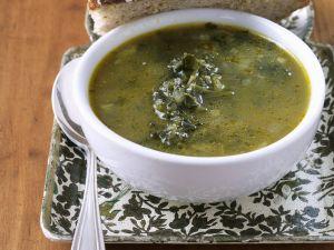 Gemüsesuppe mit Grünkohl Rezept