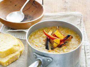 Gemüsesuppe mit Kürbis und Kartoffeln Rezept
