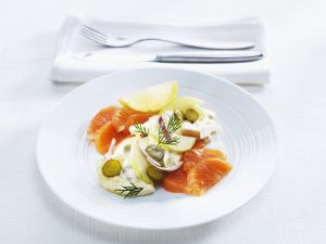 Geräucherter Lachs nach Hausfrauenart Rezept