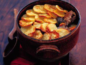 Geschmorter Hase mit Kartoffelkruste Rezept