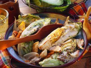 Geschmorter Weißkohl mit Karotten Rezept