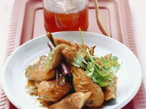 Geschmortes Hähnchen mit Honig-Feigen Rezept