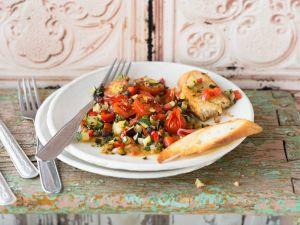 Geschmortes mediterranes Gemüse Rezept