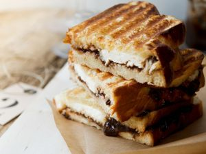 Getoastete Käse-Sandwiches Rezept