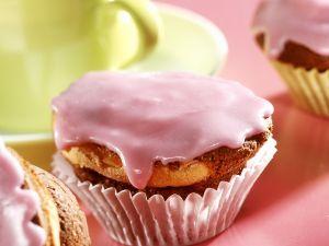 Glasierte Kaffee-Muffins Rezept