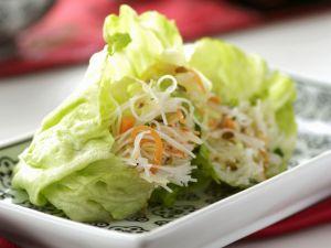 Glücksrollen mit Gemüse Rezept