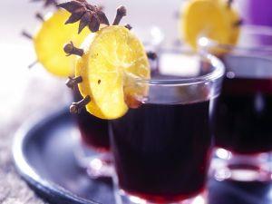 Glühwein mit Orangen Rezept