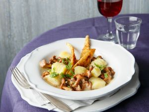 Gnocchi aus Kartoffeln und Pastinaken Rezept