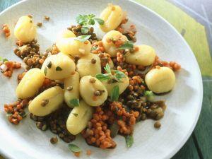 Gnocchi mit Linsenragout Rezept