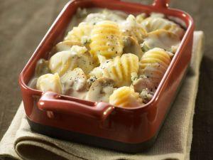 Gnocchi mit Pilz-Käse-Soße Rezept