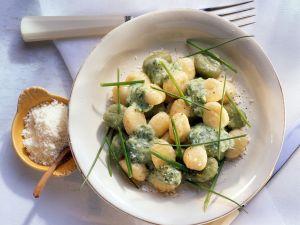 Gnocchi mit Sahnesauce Rezept