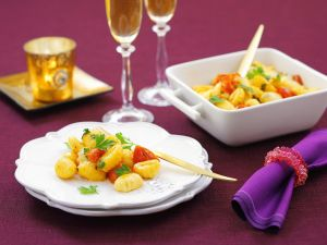 Gnocchi mit Tomaten Rezept