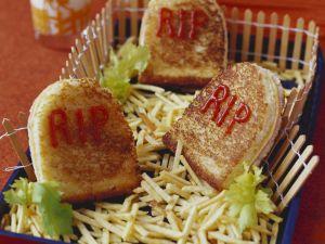 Grabstein-Sandwich