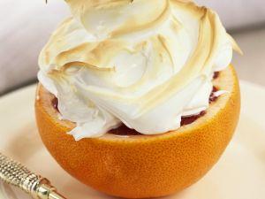 Grapefruit mit Eischneehaube Rezept