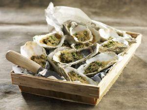Gratinierte Austern Rezept