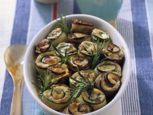 Gratinierte Gemüseröllchen Rezept