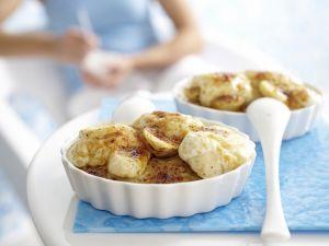 Gratinierter Porridge