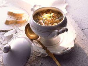 Graupen-Eintopf mit Kartoffeln Rezept
