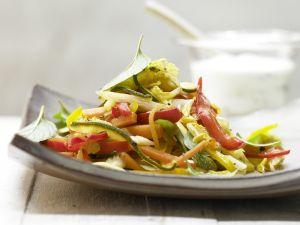 Griechische Gemüsepfanne Rezept