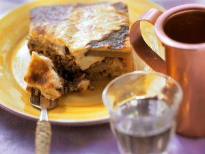 Griechischer Hackfleisch-Auberginen-Auflauf Rezept