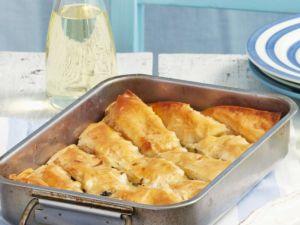 Griechischer Spinatkuchen Rezept