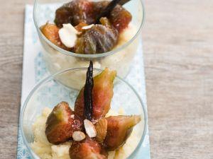 Grieß-Feigen-Dessert Rezept
