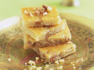 Grieß-Joghurt-Kuchen auf türkische Art Rezept