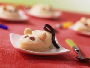 Grießbrei-Mäuschen Rezept