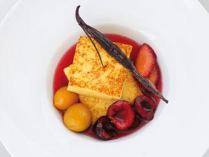 Grießschnitten mit Schwarzwälder Kirschen Rezept